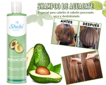 Load image in the gallery viewer, shampoo to hydrate avocado hair
