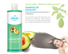 Load image in gallery viewer, avocado shampoo for damaged hair
