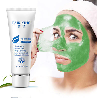 Chezaa FAIR King Green Tea Mask Tightens Skin to