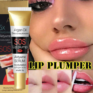 sos lip plump serum