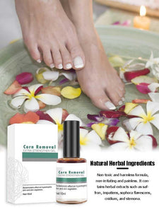 serum to remove calluses and fish eyes on feet