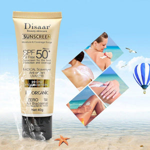 sunscreen and sunscreen together