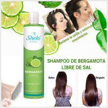 Load image in gallery viewer, natural bergamot shampoo