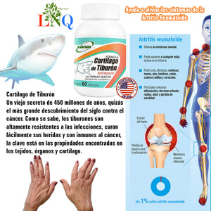 supplement to treat shark cartilage arthritis
