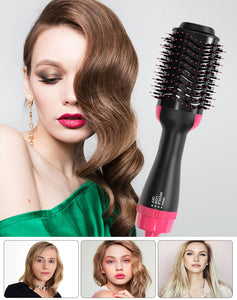 Professional straightening brush