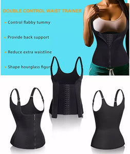 Colombian style tummy reducer vest
