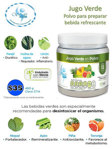 Green juice powder for weight loss by shelo nabel