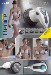 4-in-1 professional anti-cellulite massager