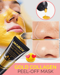chinese gold face mask