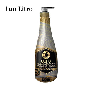 toning shampoo of one liter of ouro