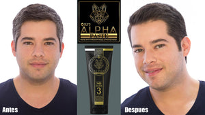 gel covers gray hair alpha 3 ouro