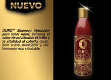 Upload image to the gallery viewer, shading shampoo for red tones brand ouro