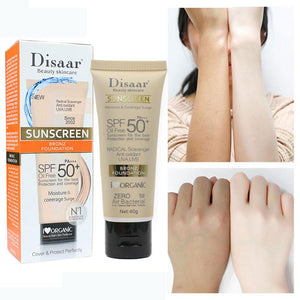sunscreen to lighten skin