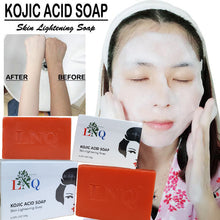 Load image in gallery viewer, kojic anti skin blemish soap