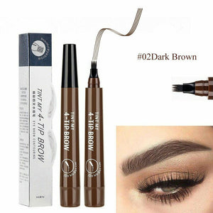 4 point pencil for 3D eyebrows