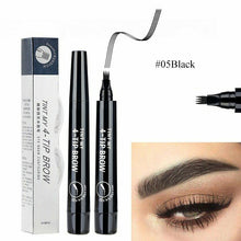 Load image into gallery viewer, black eyebrow fill pencil