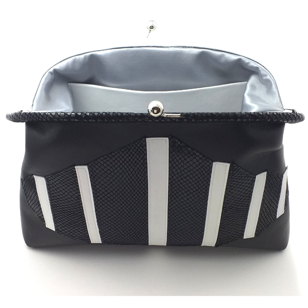 Black & white Op Art Handbag