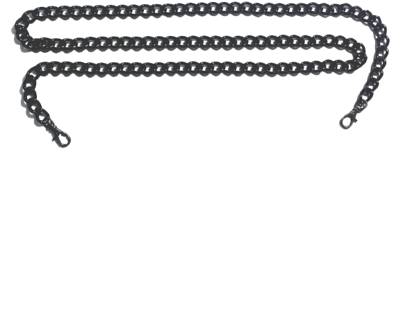 Black Chain Bag Strap
