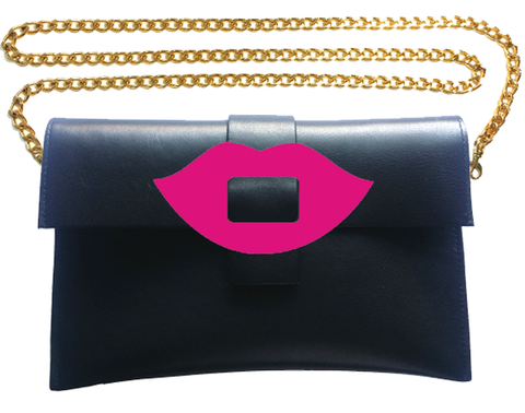 Kiss Clutch Bag