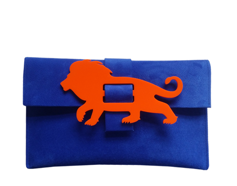 Lion Clutch Bag