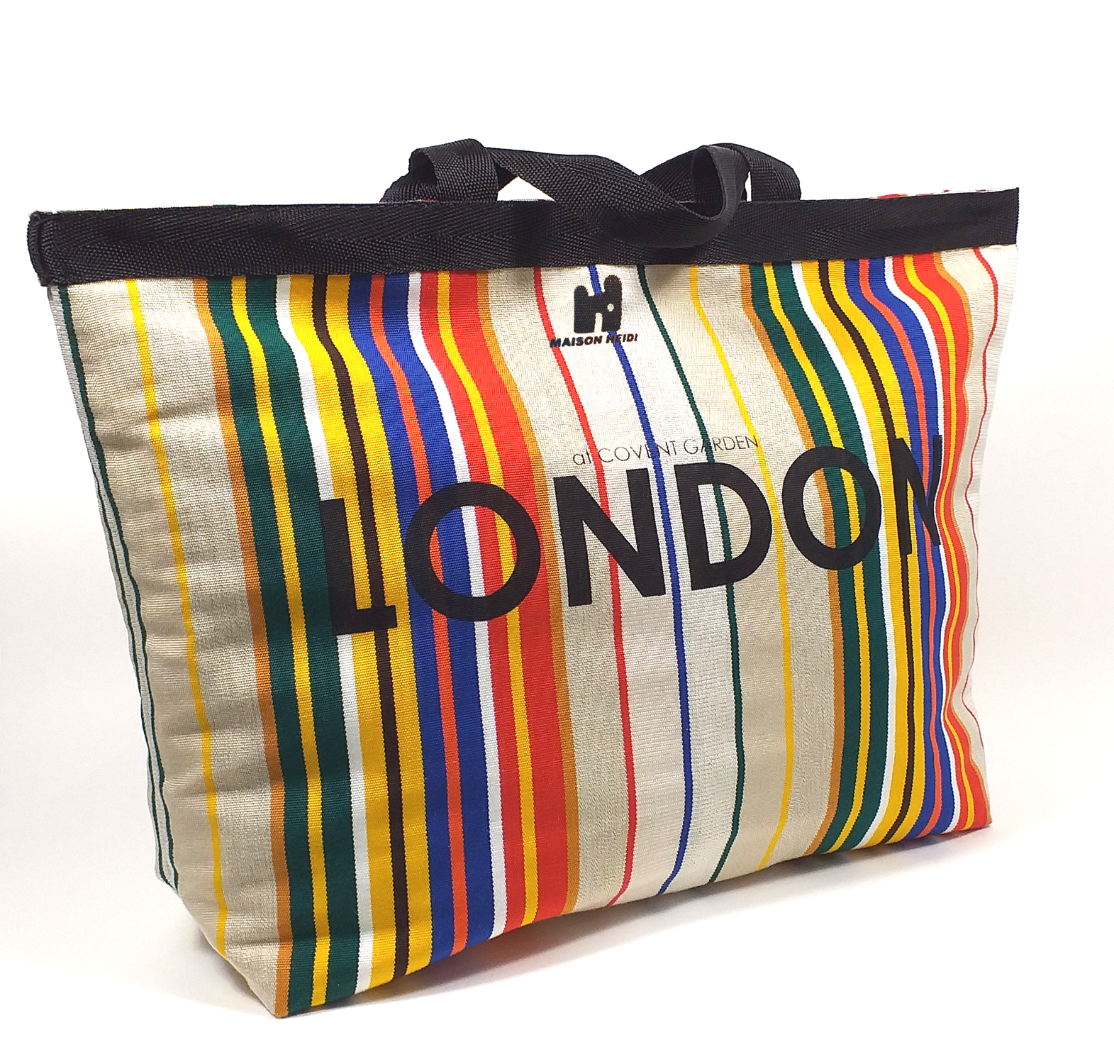 Classic Mix Stripey London Shopper