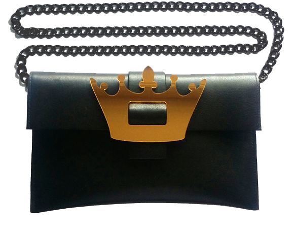 Crown Clutch Bag