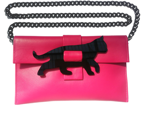 Cat Clutch Bag