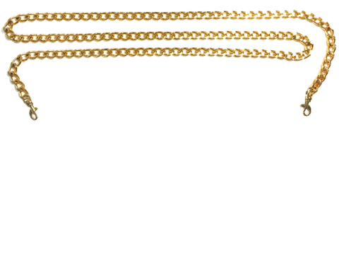 Gold Chain Bag Strap