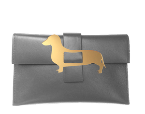 Dachshund Clutch Bag