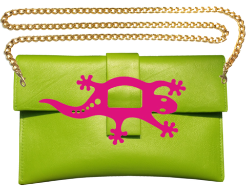Gecko Clutch Bag