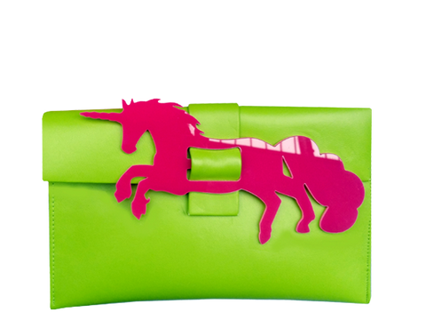 Unicorn Clutch Bag