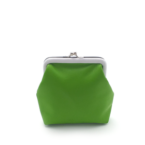 Lime Op Art Coin Purse