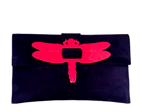 Dragonfly Clutch Bag