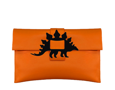 Stegosaurus Clutch Bag