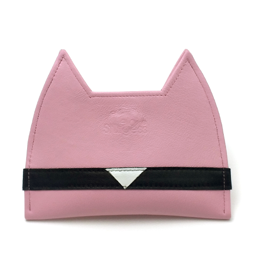 Pink Cat Card Wallet