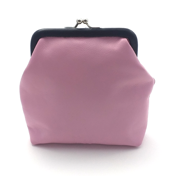 Pink Op Art coin Purse