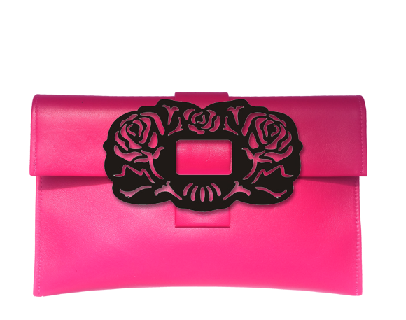 Rose Clutch Bag