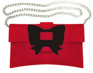 Bow Clutch Bag