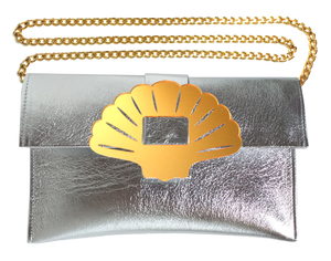 Clam Clutch Bag
