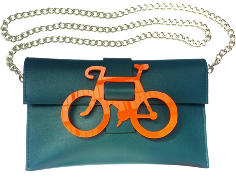Bicycle Clutch Bag