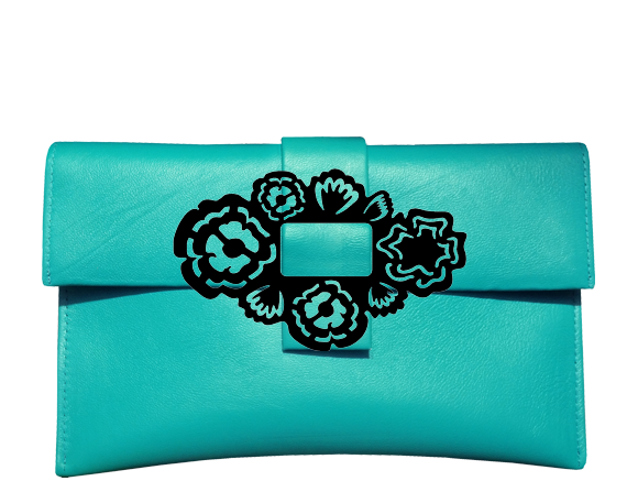 Iridescent Bouquet Clutch Bag - Ltd Edition
