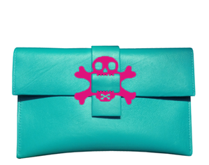 Crossbones Clutch Bag