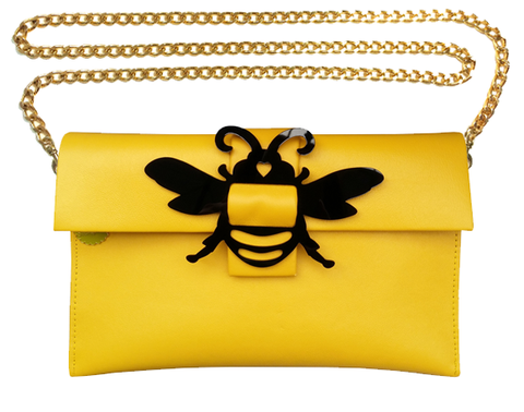Bee Clutch Bag