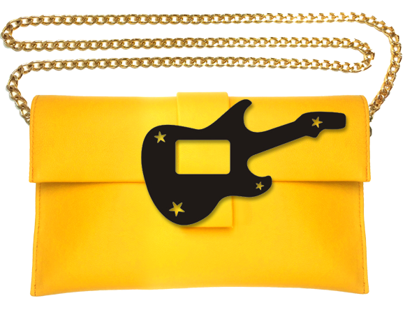 Guitar Clutch Bag