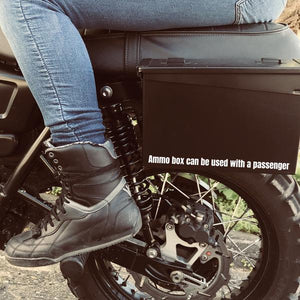 Steel Box kit for Triumph Scrambler  / Bonneville / Thruxton (30 cal box included)
