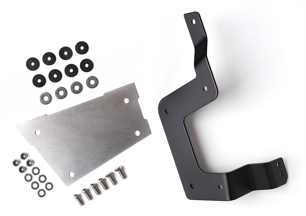 Triumph Scrambler Bonneville Thruxton ammo box bracket kit