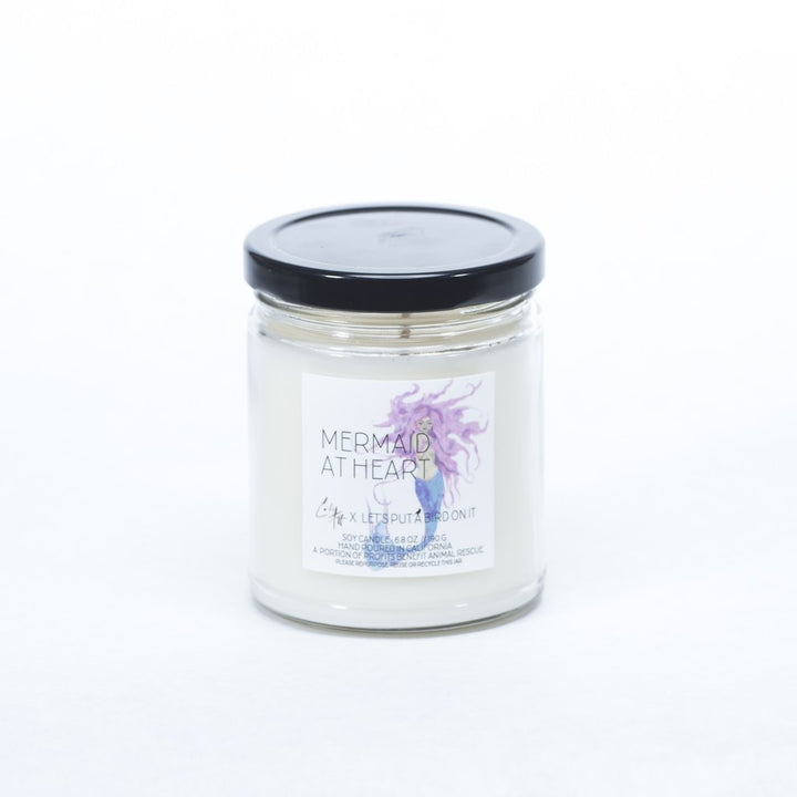 Ginger June Candle Co. - Artist Series: Mermaid At Heart // Standard Jar Candle