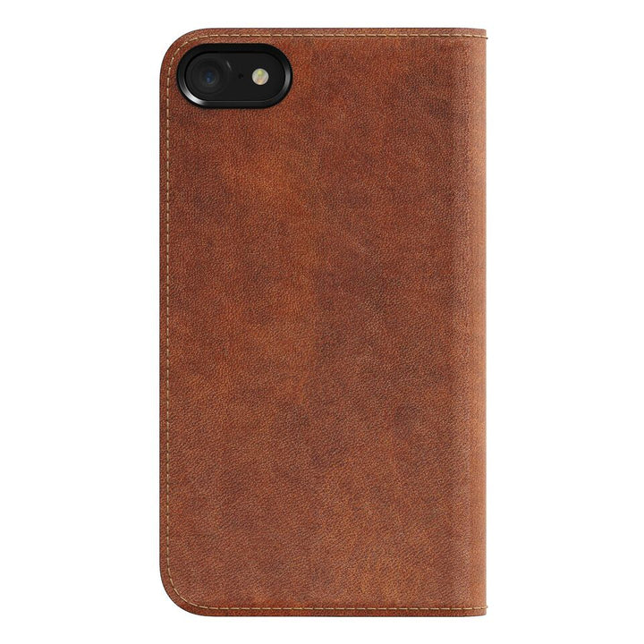 Nomad - Horween Leather Folio Wallet for iPhone - Rustic Brown