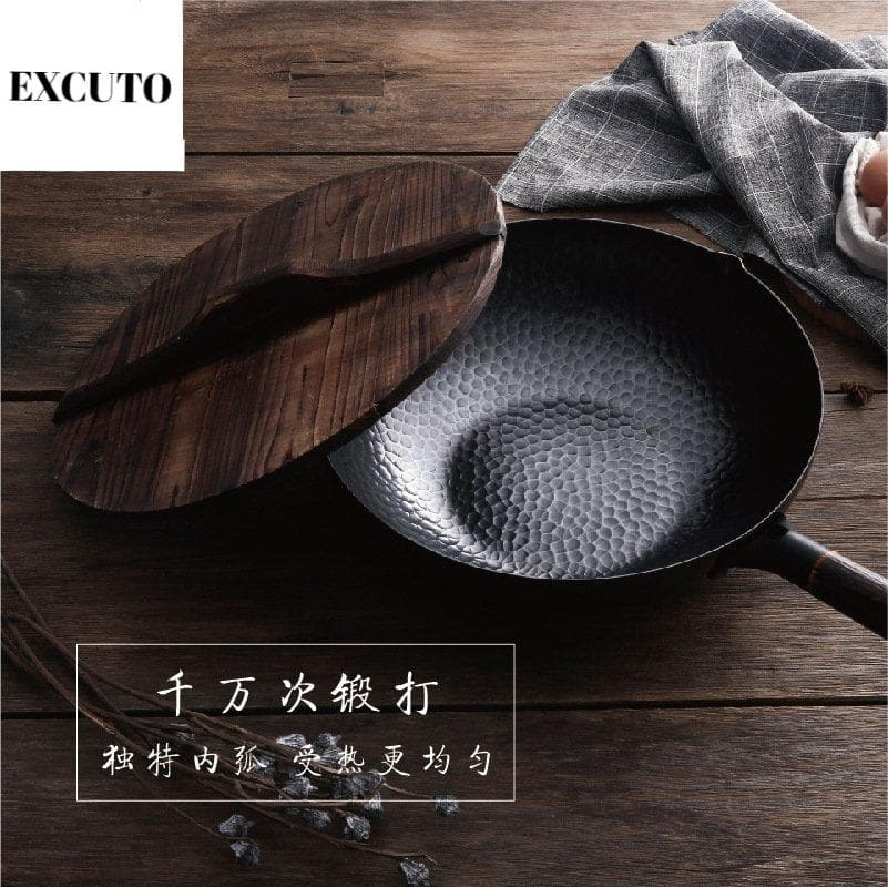 EXCUTO™ - Hand-Forged Pure Iron Pot - Coolina-pot