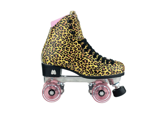Moxi Ivy - Jungle Leopard Skates
